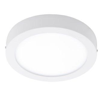 Plafonnier Eglo FUEVA-C LED Blanc, 1 lumière, Télécommandes, Changeur de couleurs