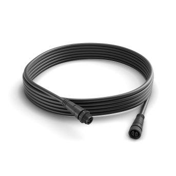 Câble rallonge d'extérieur 5m Philips Hue Noir