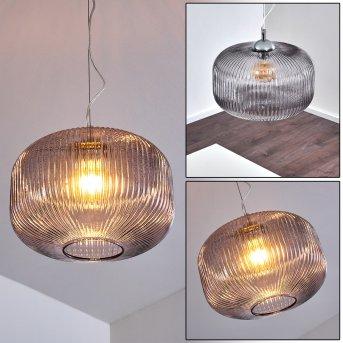 Suspension Molndal Chrome, 1 lumière