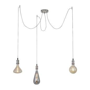 Suspension Leuchten Direkt DIY Acier inoxydable, 3 lumières