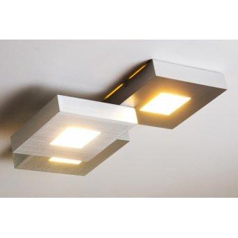 Plafonnier LED Bopp CUBUS Aluminium, 3 lumières
