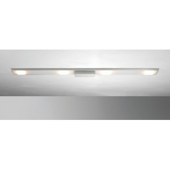 Plafonnier BOPP SLIGHT LED Aluminium, 4 lumières