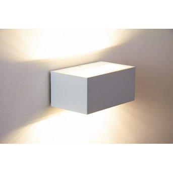 Applique murale d'extérieur LED Lutec Blanc, 1 lumière