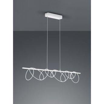 Suspension Reality Saba LED Blanc, 1 lumière