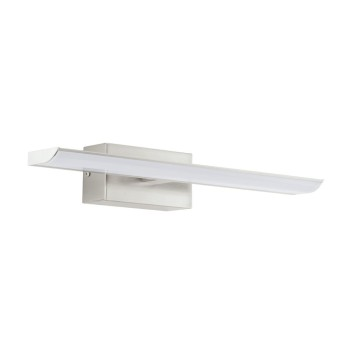 Miroir lumineux Eglo TABIANO LED Nickel mat, 2 lumières