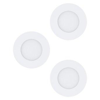 Spot encastrable Eglo FUEVA LED Blanc, 3 lumières