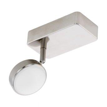 Spot Eglo CONNECT CORROPOLI-C LED Nickel mat, 1 lumière, Changeur de couleurs