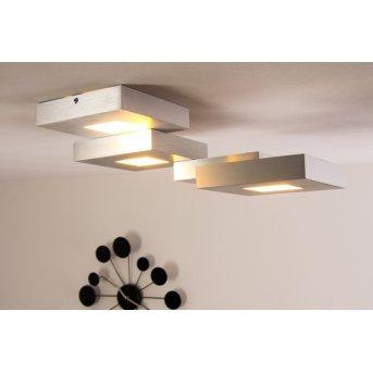 Plafonnier LED Bopp CUBUS Aluminium, 4 lumières