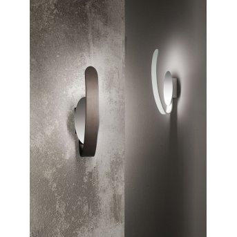 Applique murale Fabas Luce Levanto LED Blanc, 1 lumière