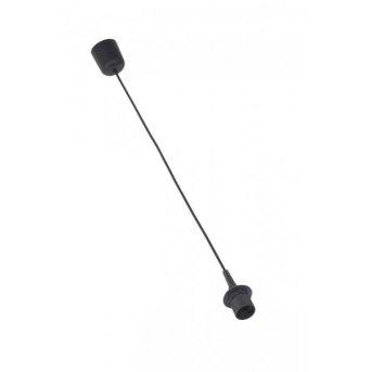 Câble pour suspension Brilliant Noir, 1 lumière