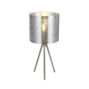 Lampe à poser Globo MURCIA Nickel mat, 1 lumière