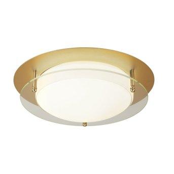 Plafonnier Searchlight FLUSH LED Blanc, Or, Transparent, 1 lumière
