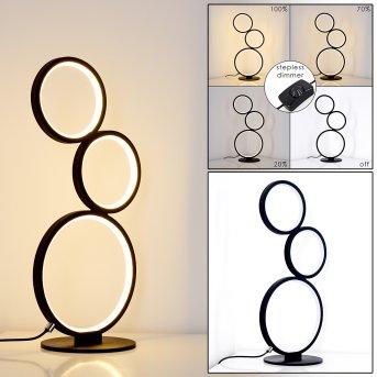Lampe à poser Rodekro LED Noir, 1 lumière