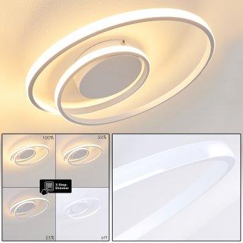 Plafonnier Leksund LED Blanc, 1 lumière