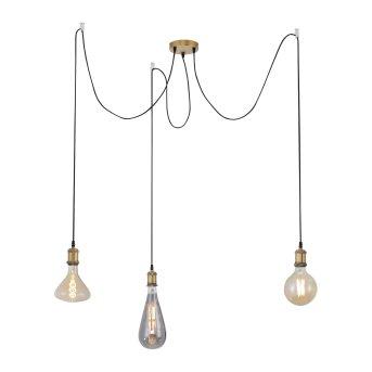 Suspension Leuchten Direkt DIY Laiton, 3 lumières