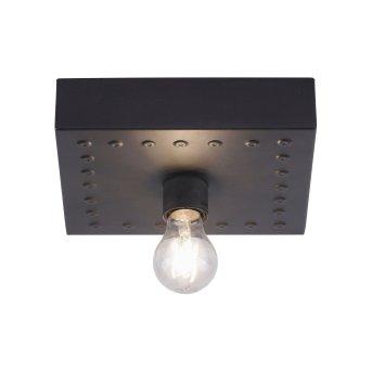Plafonnier Leuchten Direkt SAMIA Noir, 1 lumière