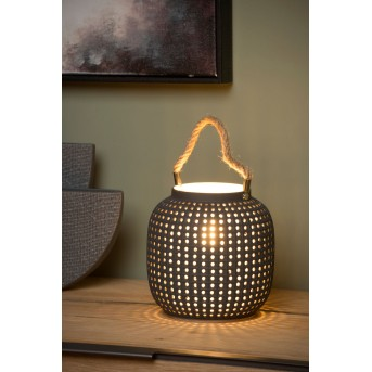 Lampe de table Lucide SAFIYA Gris, 1 lumière