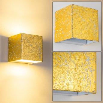 Applique murale Olbia LED Or, 1 lumière