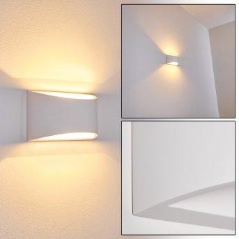 Applique murale Patea Blanc, 1 lumière