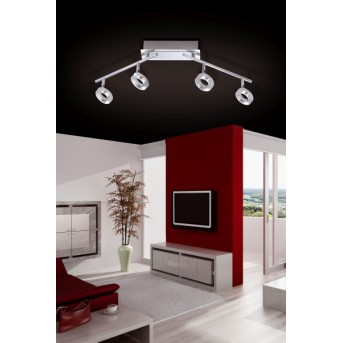 Plafonnier Paul Neuhaus SILEDA Aluminium, 4 lumières