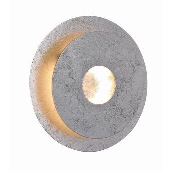 Applique murale WOFI AFIR LED Argenté, 1 lumière