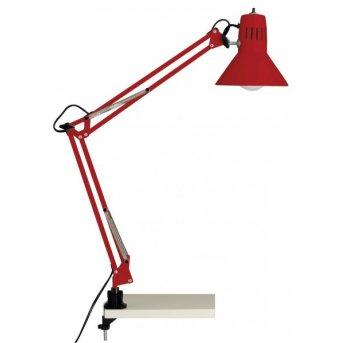 Lampe à clip Brilliant Hobby Rouge, 1 lumière