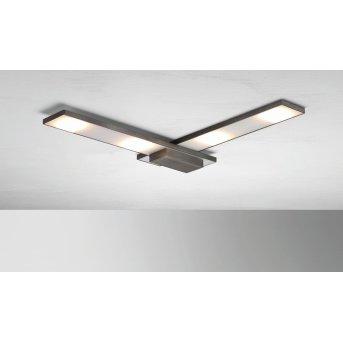 Plafonnier BOPP SLIGHT LED Anthracite, 4 lumières