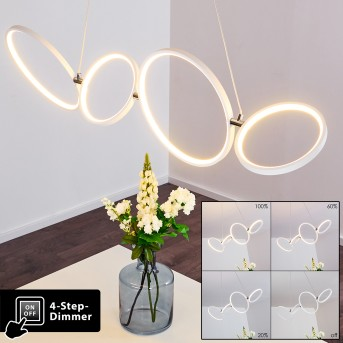 Suspension Rodekro LED Blanc, 1 lumière