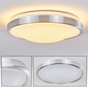 Plafonnier LED WUTACH Blanc, 1 lumière