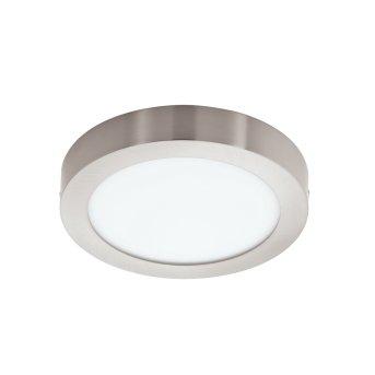 Plafonnier Eglo FUEVA-C LED Nickel mat, 1 lumière, Changeur de couleurs