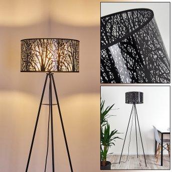 Lampadaire Antalya Noir, 1 lumière