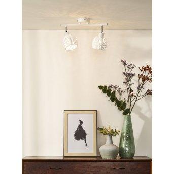 Spot de plafond Lucide TAHAR Blanc, 2 lumières