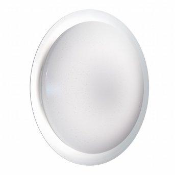 Plafonnier LEDVANCE ORBIS Argenté, 1 lumière, Télécommandes, Changeur de couleurs