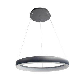Suspension WOFI CLINT LED Noir, 1 lumière, Télécommandes