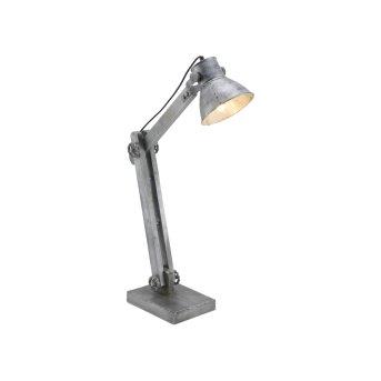 Lampe à poser Leuchten-Direkt SAMIA Gris, 1 lumière