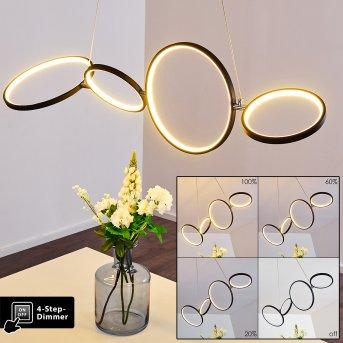 Suspension Rodekro LED Noir, 1 lumière