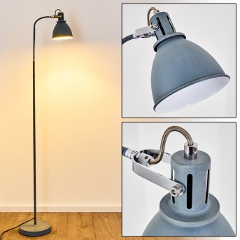 Lampadaire Koppom Bleu, 1 lumière