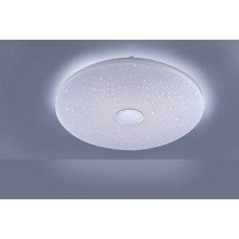 Plafonnier Leuchten Direkt JONAS LED Blanc, 1 lumière, Télécommandes
