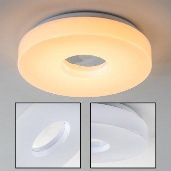 Plafonnier LED Loris Blanc, 1 lumière