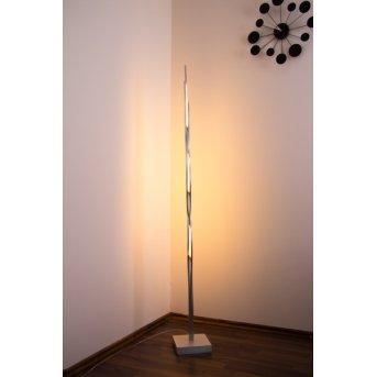 Lampadaire LED SILK Aluminium, 1 lumière