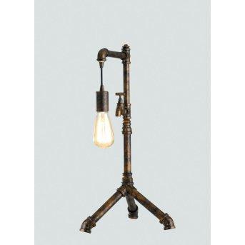 Lampe à poser Lutec AMACORD Brun, 1 lumière