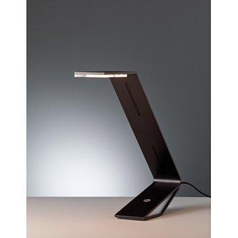 Flad Tecnolumen Lampe à poser LED Noir, 1 lumière