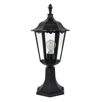 Borne lumineuse KS Verlichting Ancona Noir, 1 lumière