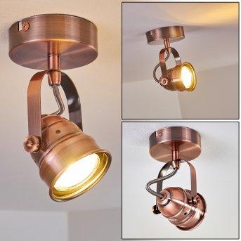Plafonnier Aniak LED Cuivre, 1 lumière