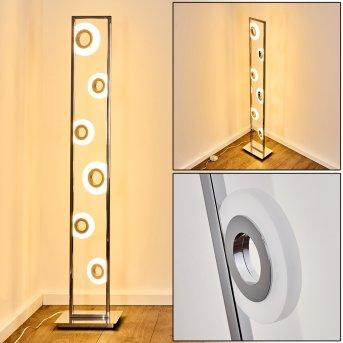Lampadaire Obip LED Chrome, 1 lumière