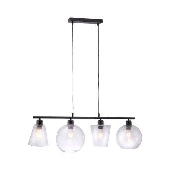 Suspension Leuchten Direkt SOPHIE Noir, 4 lumières