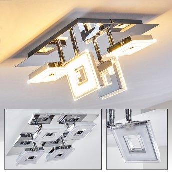 Spot Krakau LED Chrome, 4 lumières
