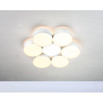 Plafonnier Bopp TOUCH LED Blanc, 6 lumières