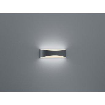 Applique murale Trio-Leuchten Konda LED Anthracite, 1 lumière