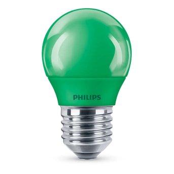Philips LED E27 3,1 Watt vert